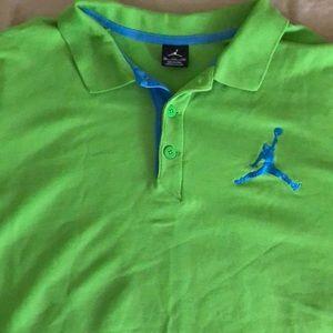 Mens Jordan Polo shirt